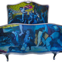 Jimmie Martin Ltd Art Bed