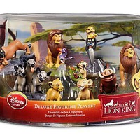 Disney The Lion King Exclusive 9 Piece Deluxe Figurine Playset