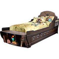 Disney Pirates 4 Pc Twin Bed