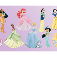 Disney Princess Collection Fathead Wall Decal