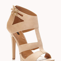 Cutout Stiletto Sandals | FOREVER 21 - 2055589409