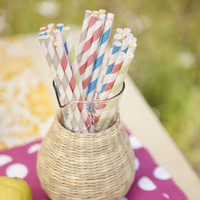 Colorful Eco Straws