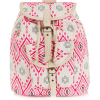 Diamond Jacquard Backpack - Backpacks - Bags & Wallets - Bags & Accessories - Topshop USA