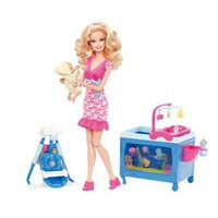 Barbie I Can Be Baby Caregiver Doll Playset