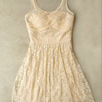 Ivory Lace Soiree Dress [4181] - $33.60 : Vintage Inspired Clothing & Affordable Summer Frocks, deloom | Modern. Vintage. Crafted.