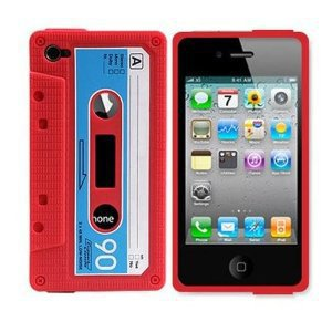 Amazon.com: Classic Cassette Silicone Case Skin for Iphone 4 4th 4g: Cell Phones &amp; Accessories