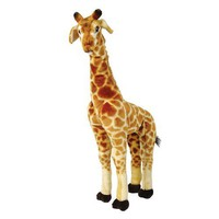 Large Standing Plush Giraffe