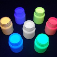 Body Paint - Glow In The Dark Body Paint (Set of 4) #6560