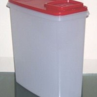 Tupperware Super Cereal Store Storer 20 Cup Passion Red