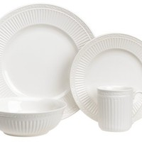 Mikasa Italian Countryside 16-Piece Dinnerware Set, Service for 4