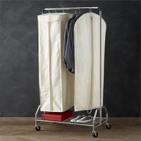 Twill Hanging Garment Storage Bags with Ticking
