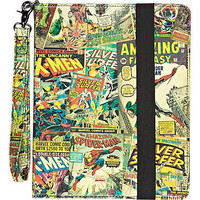 Red comic print iPad case - gadgets - gifts - men