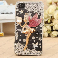 3D case iphone case Angel case  star case  for iphone 4 iphone 4s iphone 5 case