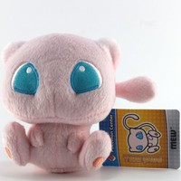 "Pokemon Center Plush 5"" PokeDoll Mew"