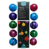 Marble 10-Bulb String Lights - Multicolor