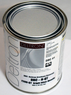 Ppg dbc deltron basecoat bight silver from autobodydepot for Ppg automotive paint store