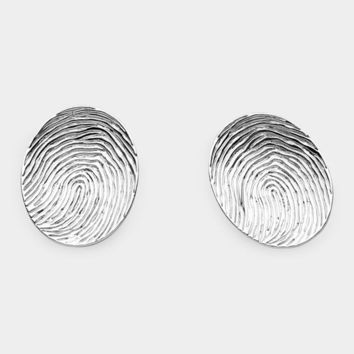 Fingerprint Earrings