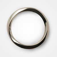 streamline/ mobius silver ring