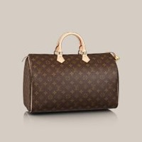 Speedy 40 - Louis Vuitton  - LOUISVUITTON.COM