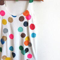 Colorful Confetti Racerback