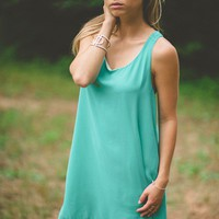 Ruffled and Ready in Teal - New Arrivals