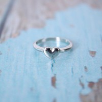 Heart Knuckle Ring - Rings - Shop