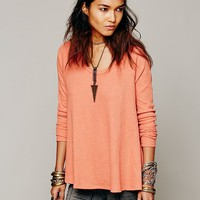 Free People Rockabilly Raglan Solid