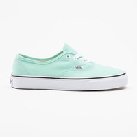 Vans Authentic Womens Shoes Beach Glass/True White  In Sizes