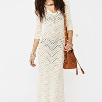 Freewheelin' Crochet Dress in  Clothes at Nasty Gal