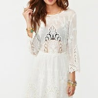 Valentina Crochet Dress in  Clothes at Nasty Gal