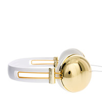 ASOS | Metallic Gold Headphones at ASOS