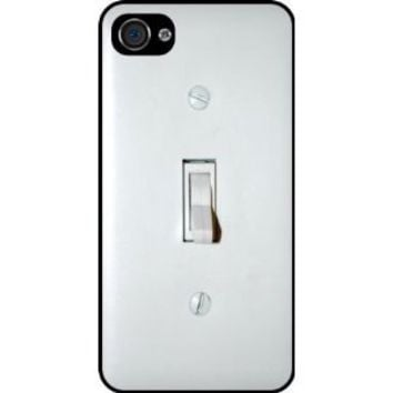 Light Switch Black Hard Case Cover for Apple iPhone