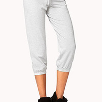 Cropped Lounge Sweatpants | FOREVER 21 - 2059688151
