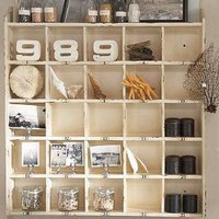 Cubby Organizer - Weathered White | Pottery Barn