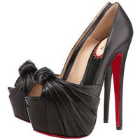 Christian Louboutin Lady Gres 160mm Pumps Black