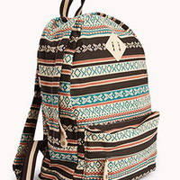 Southwestern Canvas Backpack | FOREVER 21 - 1059216810