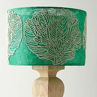 Anthropologie - Loomed Palmae Lampshade
