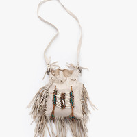 Sample Bone & Tassel Bag - Cream | Spell & the Gypsy Collective