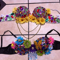Rave Bra Custom Strapless Push Up