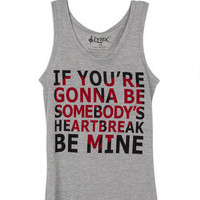 Somebody's Heartbreak Tank