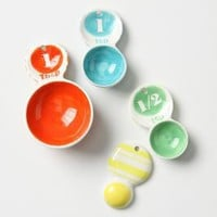 Primary Confection Measuring Spoons-Anthropologie.com
