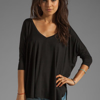 Feel the Piece Sparrow Top in Black