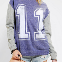Urban Outfitters - Eleven Graphic Pullover Sweatshirt