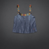 Boat Canyon Chambray Top