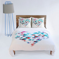 DENY Designs Home Accessories | Aimee St Hill Floral Heart Duvet Cover