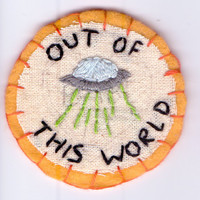 Out of This World Patch by Hanecdote on Etsy