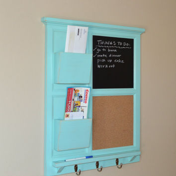 Unique Chalkboard Cork Board With Two From