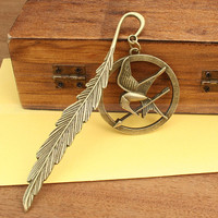 The Hunger Games Bookmark  Katniss Arrow with Mockingjay, $4.99