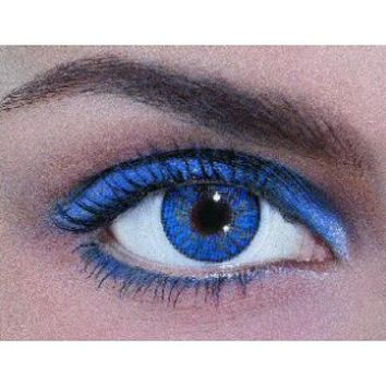 FRESHLOOK COLORBLENDS TRUE SAPPHIRE from EyeCandy's | Cosmetic True Sapphire Contact Lenses