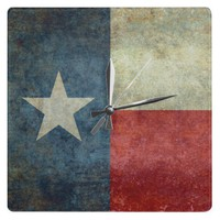 "The ""Lone Star Flag"" of Texas Clock at Zazzle.ca"